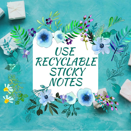 Remember It Dry-Erase Sticky Notes. Reusable Whiteboard Stickers. Free Shipping