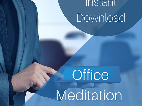 4 Minute Desk Meditation. Free with the Desk Cards