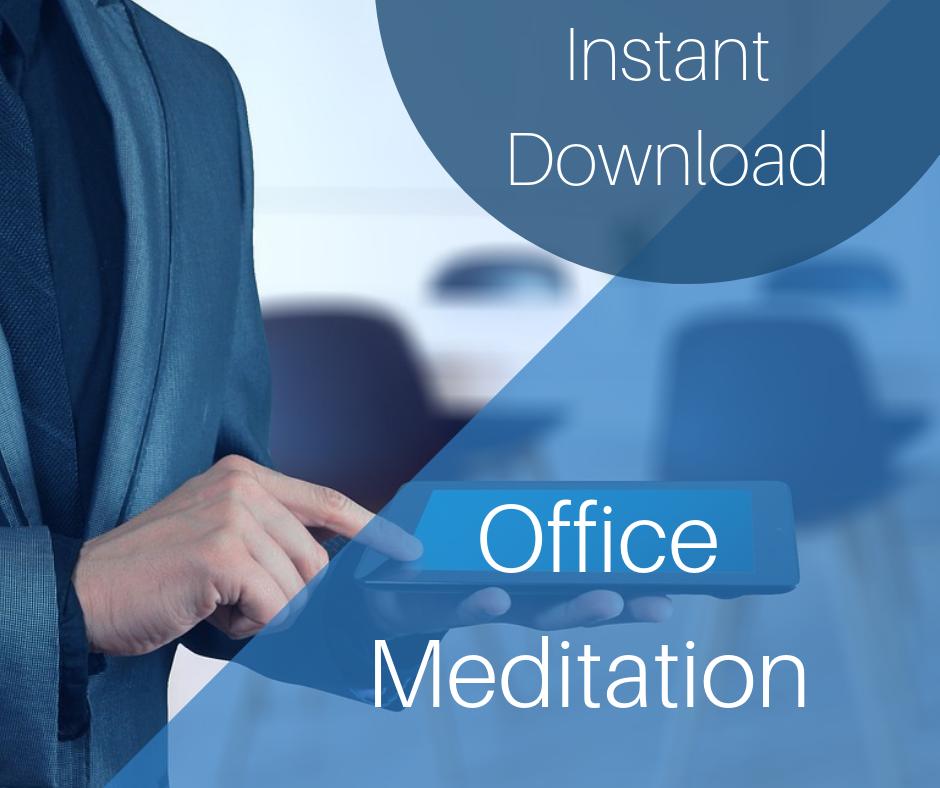 corporate meditation, meditation, work, stress, mental health, workplace wellness