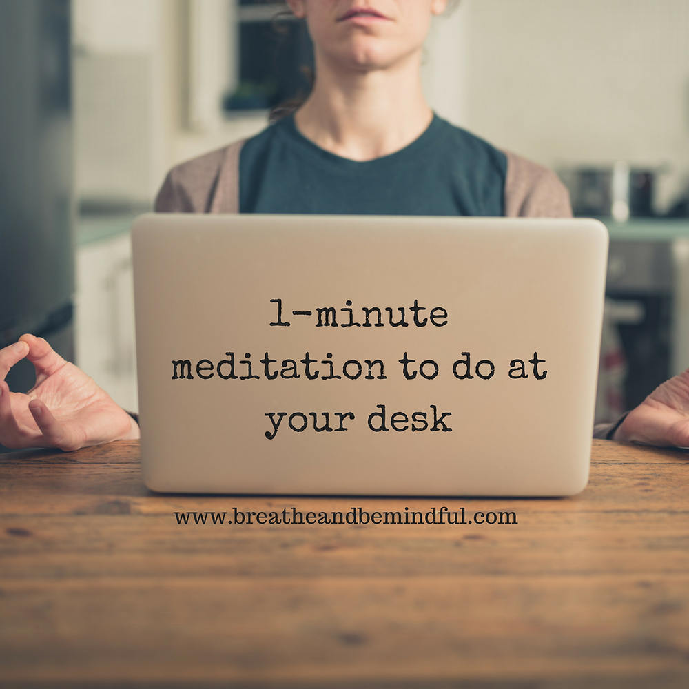 meditation, office, desk