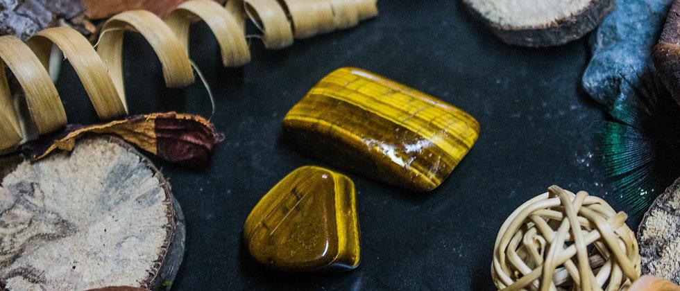 oeil de tigre, pierre roulée, pierre semi précieuse, leanne ingouff, litothérapie, saint laurent du pont, oeil du tigre