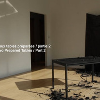 Table préparée 02 - Prepared Table 02