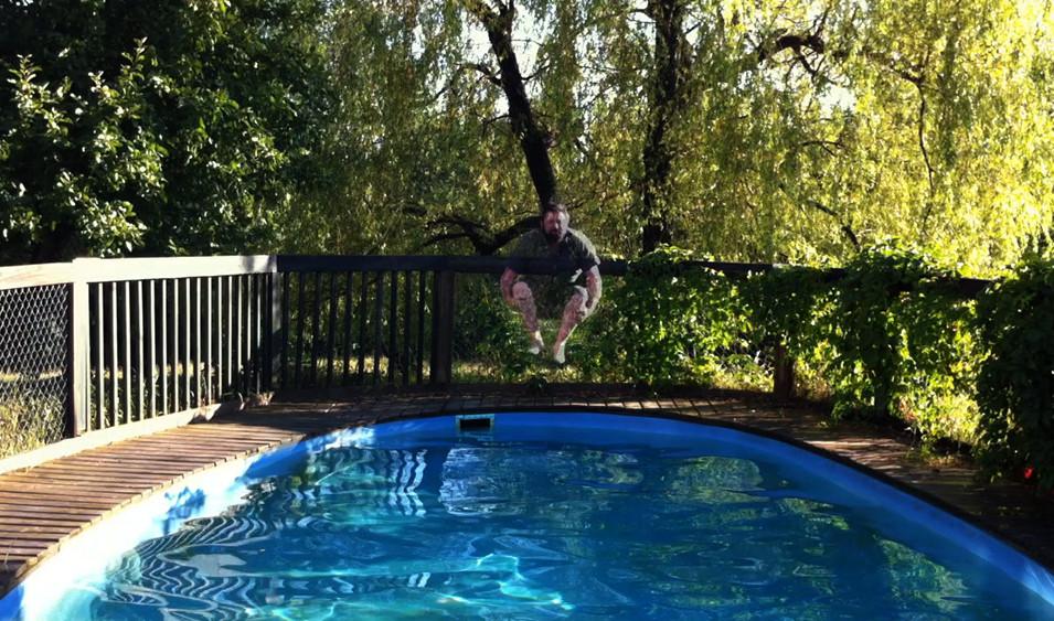 Refaire Bill Viola en vacances - Redoing Bill Viola on holiday