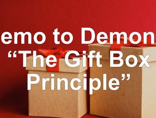 """Memo to Demons: """"The Gift Box Principle"""""""
