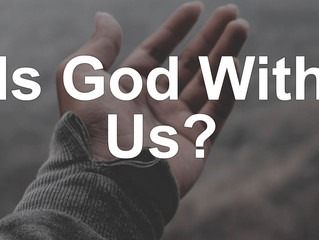 Is God With Us?