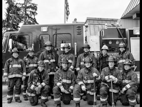 Lynnwood Fire on B-Shift.