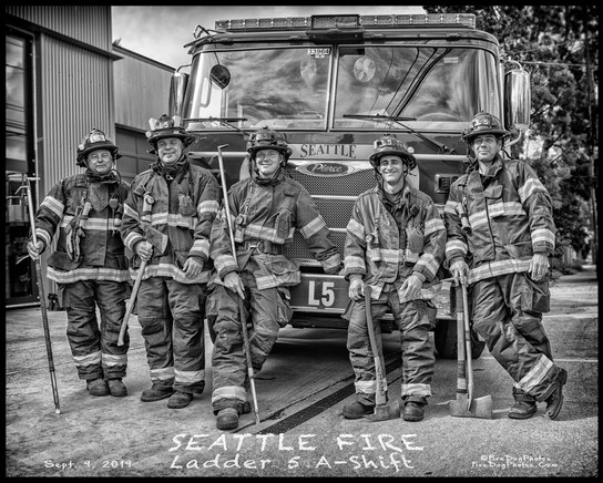 A visit with Seattle Fire Ladder 5