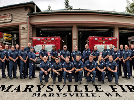 Great Turnout By Marysville Fire District