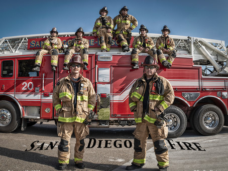 Visit With San Diego Fire