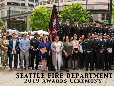 Seattle Fire's Award Ceremony