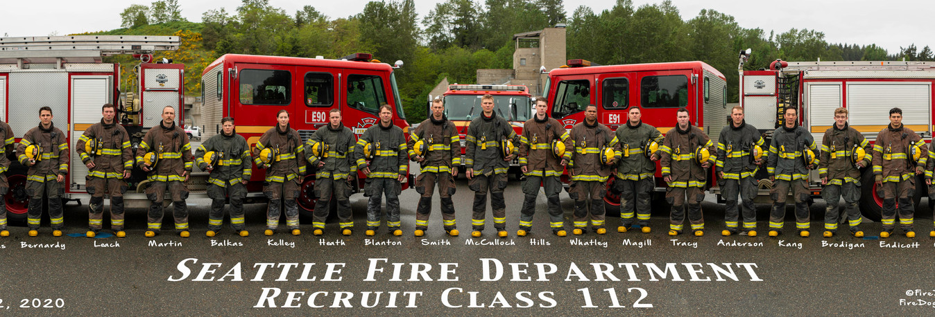 Smaller Seattle Recruit Class 112 with n
