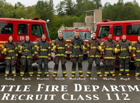 Congratulations to Seattle Fire Recruit Class 112!