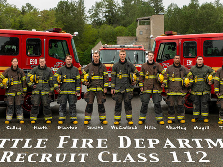 Congratulations to Seattle Fire Recruit Class 112!