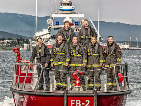 One very busy day with Vancouver Fire and Rescue.