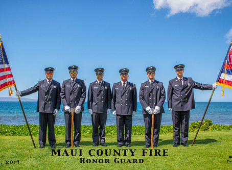 Maui County Fire Honor Guard