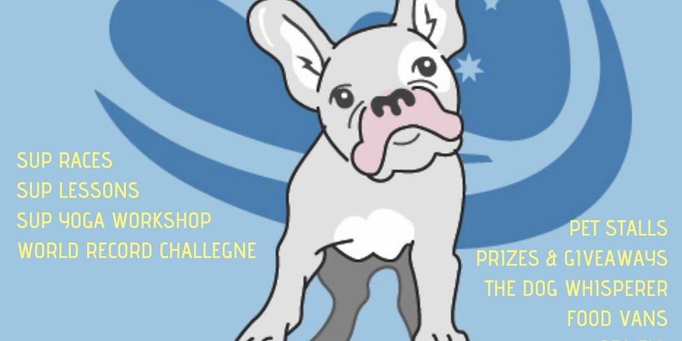 FREE SUP Yoga Workshop at Pups on Sups 2018