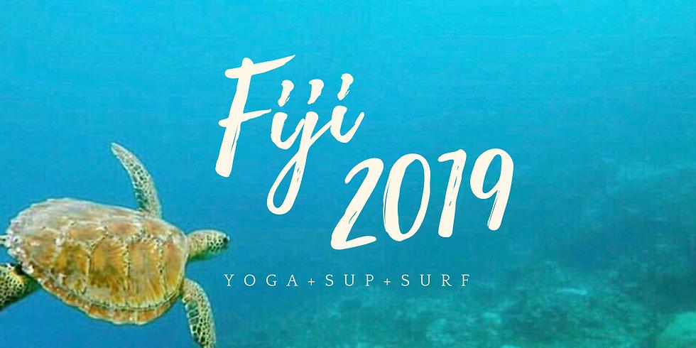 FIJI : Yoga - SUP - Surf Eco Retreat