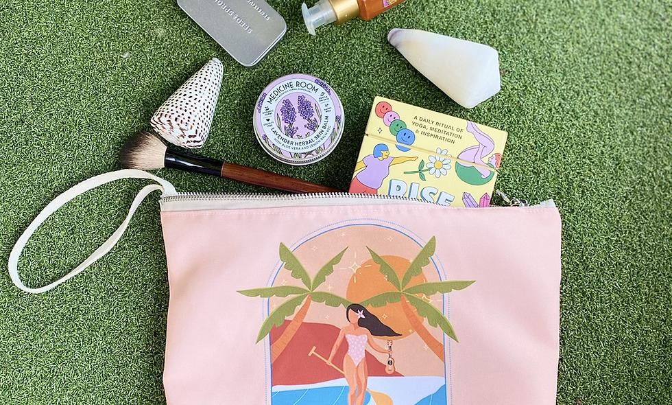 Pure Aloha Nalu Zip Bag