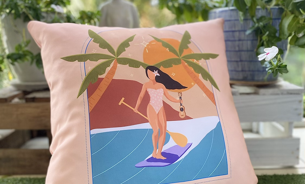 Pure Aloha Nalu Pillow