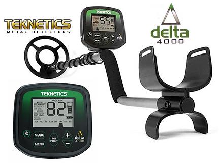 Hedendaags Explorador de Reliquias Detector de Metais DELTA 4000 Teknetics ZP-13