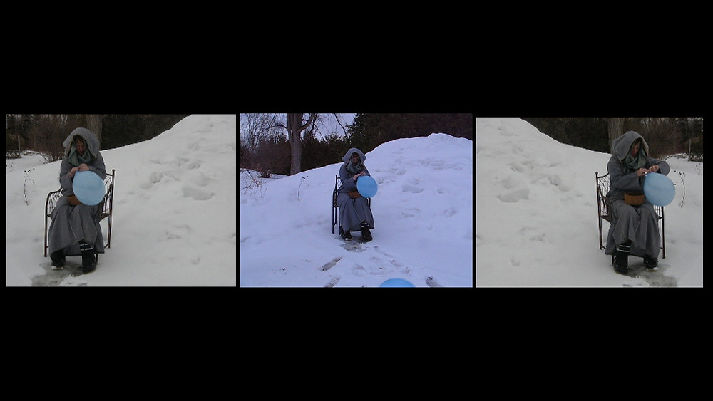 Waiting for Godot to bless me,2014 as performed by ALEXIS WILLIAMS, Montreal, Canada