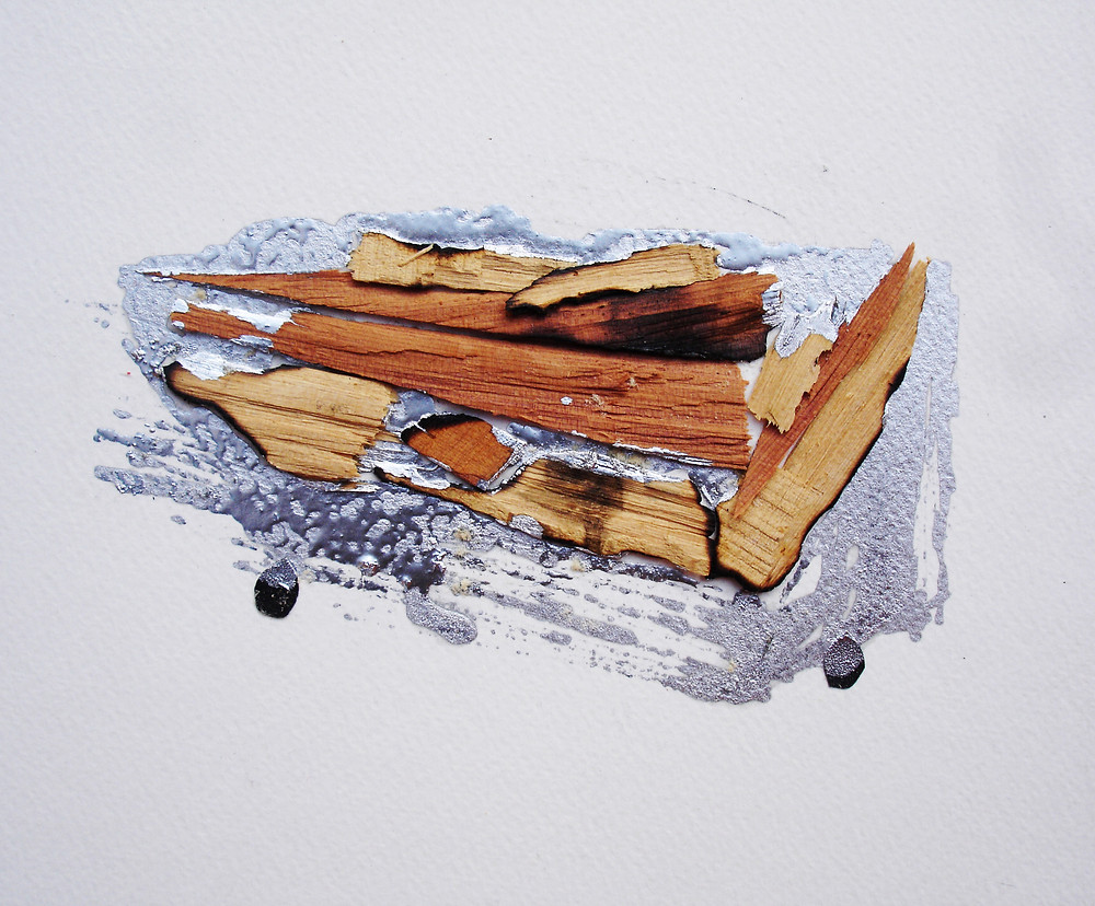 CollageAnonymous objects#1, 2013 (table)
