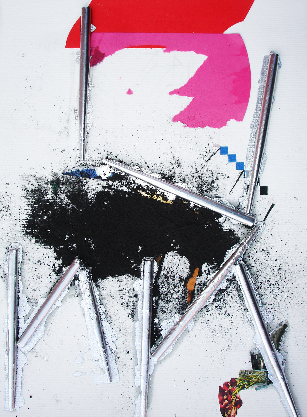 Collage Anonymous objects,2013                        (chair)