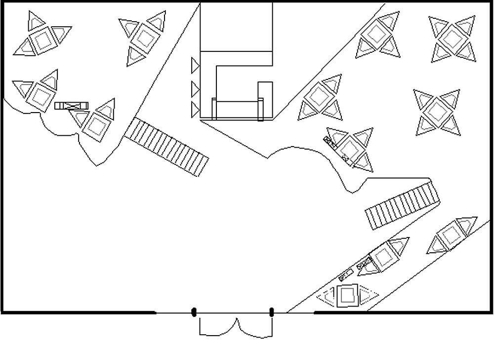 plan of upstairs