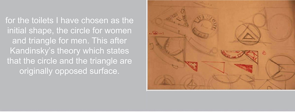 research of the toilet shape
