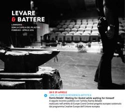 LEVARE & BATTERE,residency, Bologna