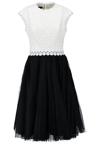 ca485713f TED BAKER Black and White Dress