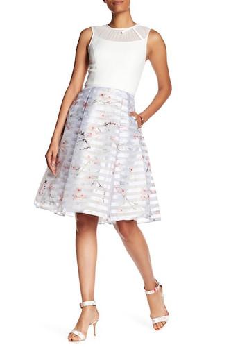 0c9196584 TED BAKER Oriental Blossom Contrast Dress