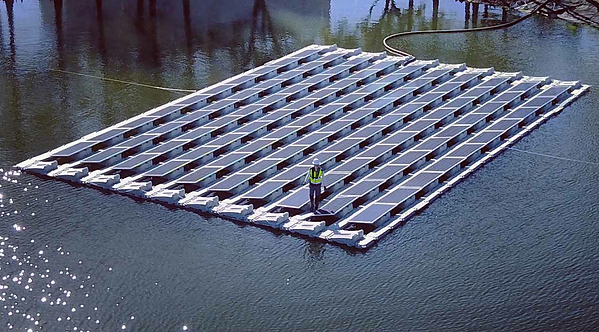 Floating Solar Array