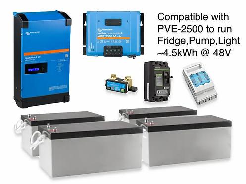 3kW/4.5kWh AGM VICTRON UPS