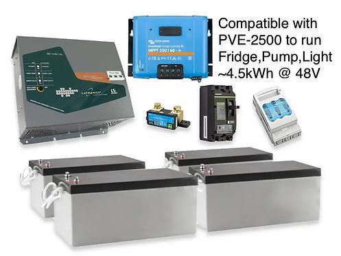 1.8kW/4.5kWh AGM LATRONICS UPS