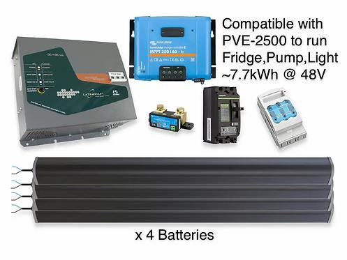3.5kW/7.7kWh LTO LATRONICS UPS