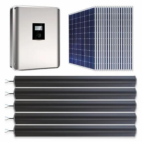 Solar Hybrid 9.6kWh LTO+PV