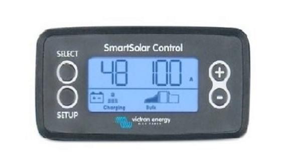Victron Display for Smart MPPT
