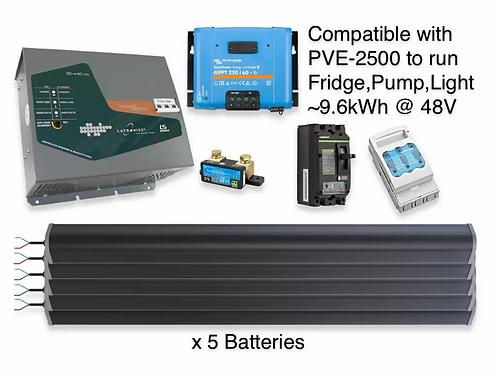 5kW/9.6kWh LTO LATRONICS UPS