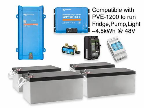 1.6kW/4.5kWh AGM VICTRON UPS