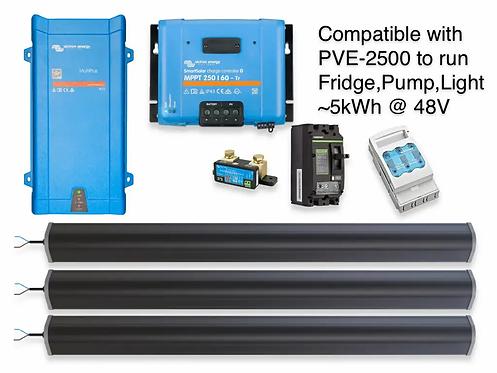 1.6kW/5.7kWh LTO VICTRON UPS2.5