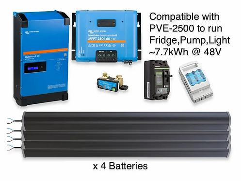 3kW/7.7kWh LTO VICTRON UPS
