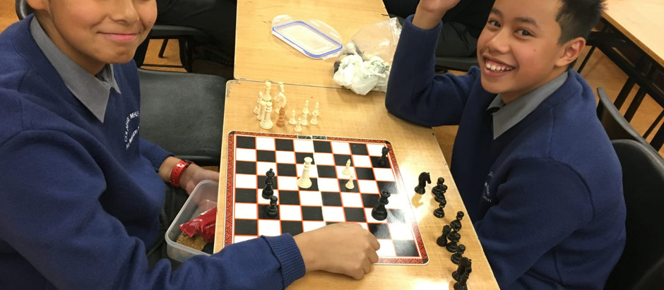 Chess club up and running.
