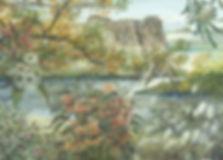 Exzibit, art, artist, water-colour, botanical, flora