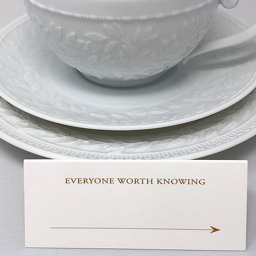 Place Cards: Everyone