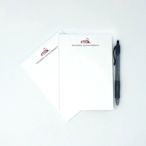 Notepads: Ducking Autocorrect