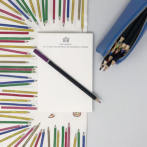 Notepads: The Queen