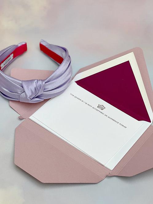 Headband Queen Gift Box: LAVENDER