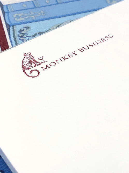 Notepads: Monkey Business