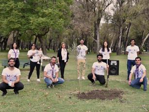 Las Juventudes de la Comunidad Armenia plantaron memoria a 106 años del Genocidio